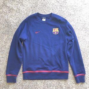 Nike Barcelona Soccer Sweatshirt